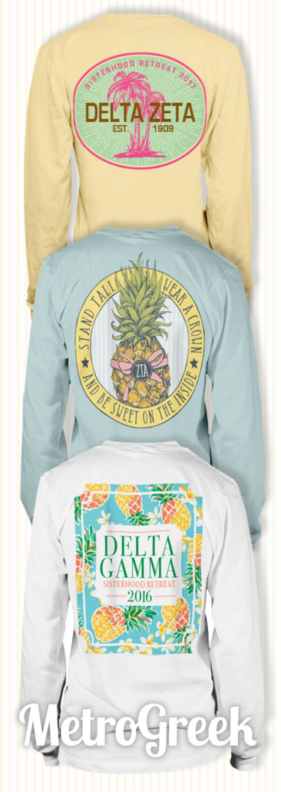 Sorority T-shirt Ideas for Fall 2016