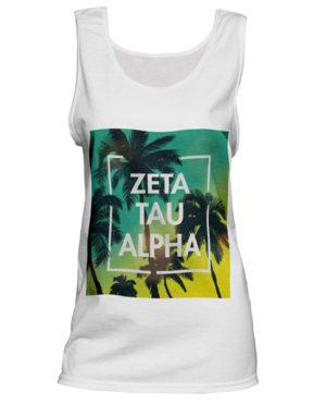 Zeta Tau Alpha Unisex Tank Top