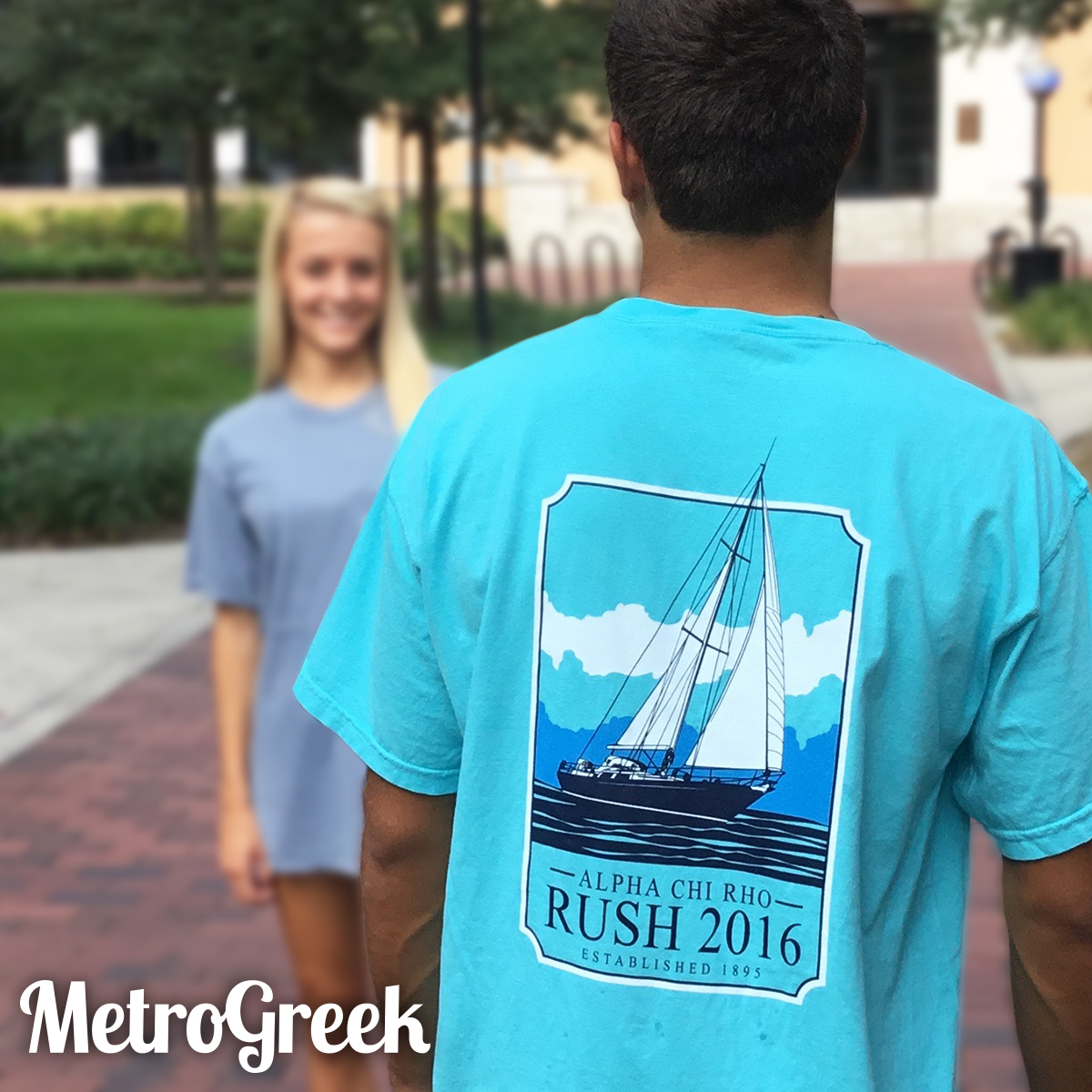 Fraternity Sailboat Tshirt