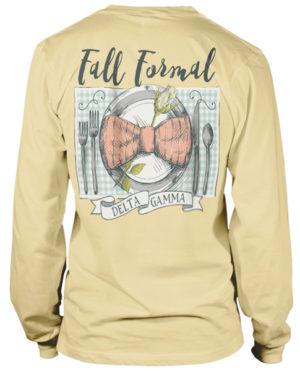 Delta Gamma Fall Formal T-shirt