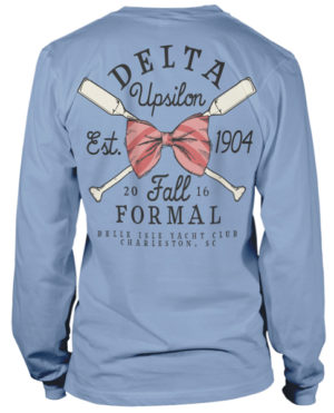 Delta Upsilon Formal T-shirt