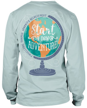 Panhellenic Sorority Recruitment T-shirt