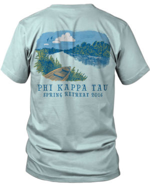 Phi Kappa Tau Brotherhood Retreat T-shirt