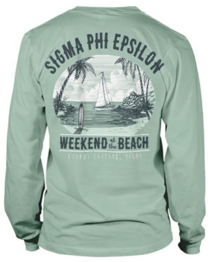 Sigma Phi Epsilon Beach Weekend T-shirt