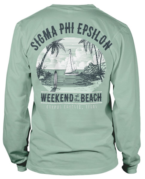 Sigma Phi Epsilon Beach Weekend T-shirt