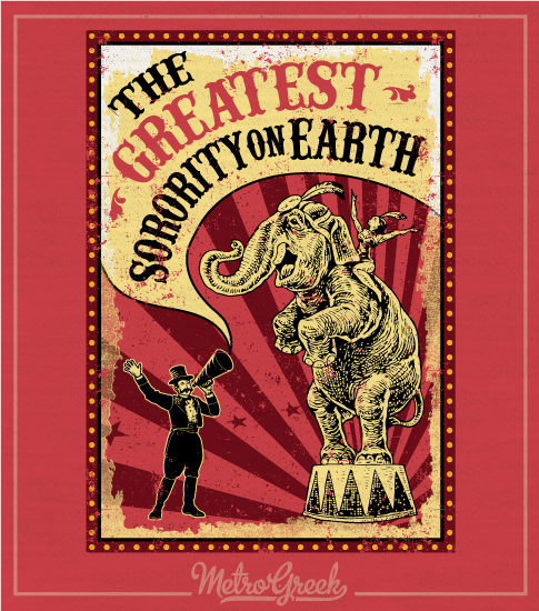 Sorority Circus Bid Day Shirt