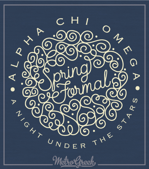 Alpha Chi Omega Formal Shirt