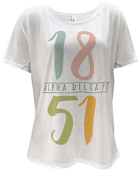 Alpha Delta Pi Founding T-shirt