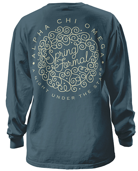 Alpha Chi Omega Formal T-shirt