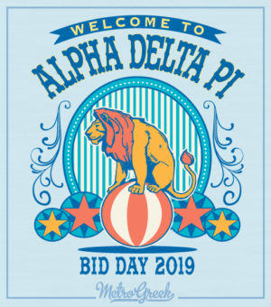 Alpha Delta Pi Circus Shirt
