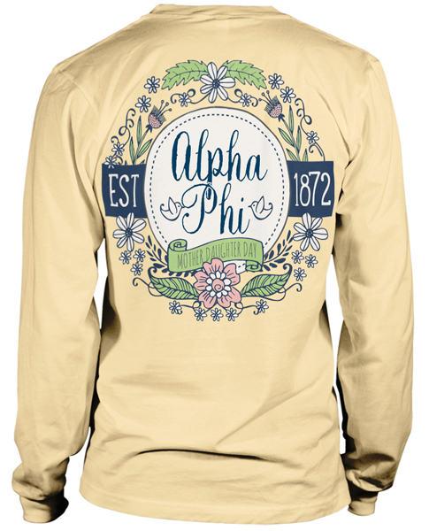 Alpha Phi Mother Daughter Tshirt