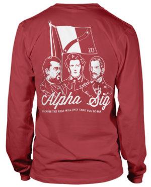 Alpha Sigma Phi Rush T-shirt