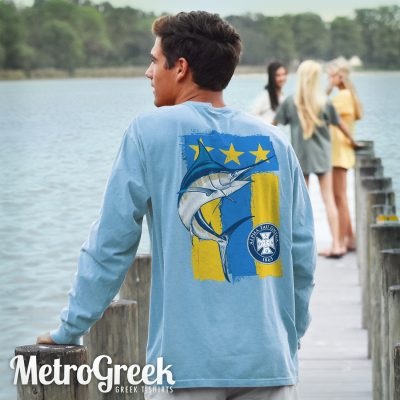 Alpha Tau Omega Marlin Flag T-shirt