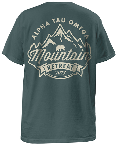 Alpha Tau Omega Mountain T-shirt