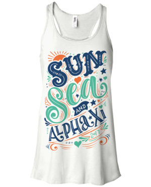Alpha Xi Delta Beach Tank Top