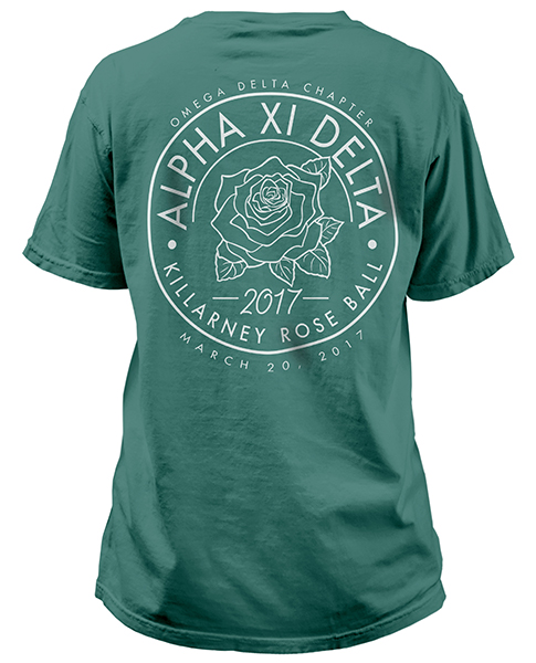 Rose Formal T-Shirt