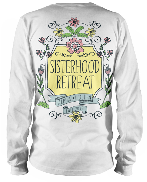 1321 alpha xi delta sisterhood tshirts greekshirts for Sorority t shirt design