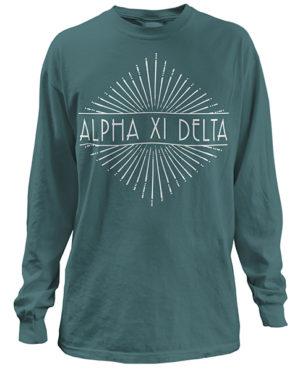 Alpha Xi Delta Sunburst T-shirt