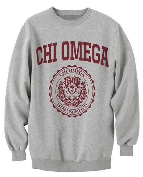 Chi Omega Collegiate Sweatshirt