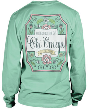 Chi Omega Mother Daughter T-shirts