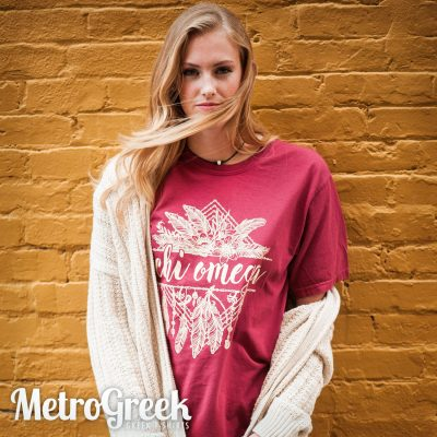 Chi Omega Recruitment T-shirt