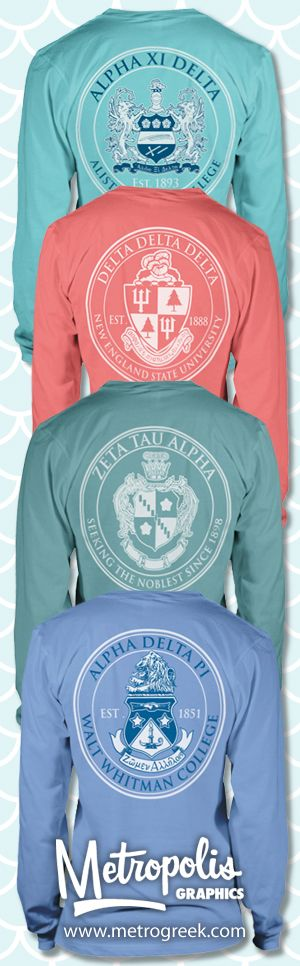 Sorority Crest T-shirts
