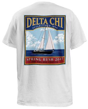 Delta Chi Spring Rush T-shirt