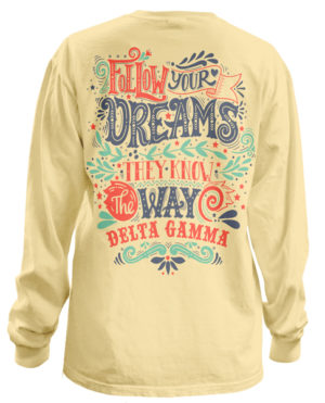 Delta Gamma Dreams Bid Day T-shirt