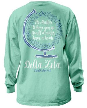 Delta Zeta Globe T-shirt