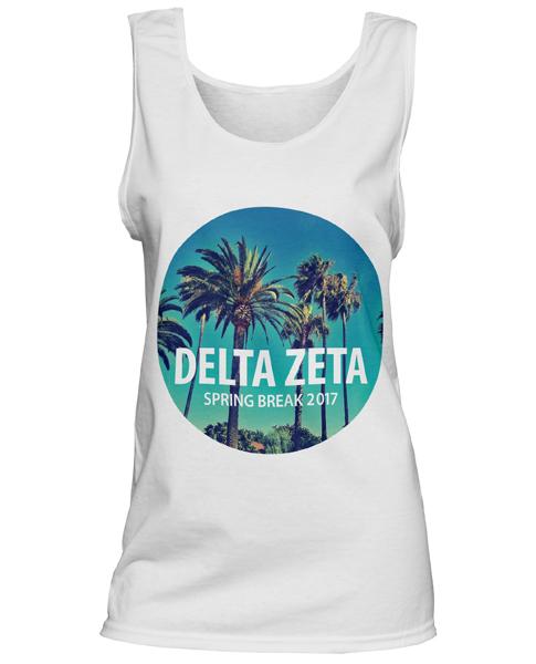 Delta Zeta Spring Break T-shirt