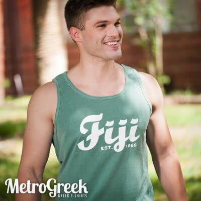 Fiji Fraternity Tank Top