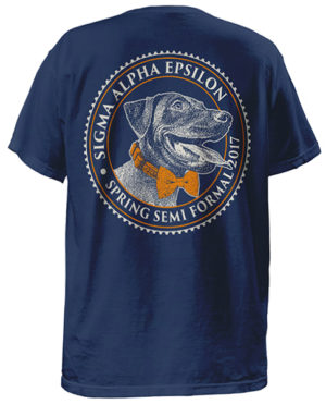 Formal T-shirt Sigma Alpha Epsilon