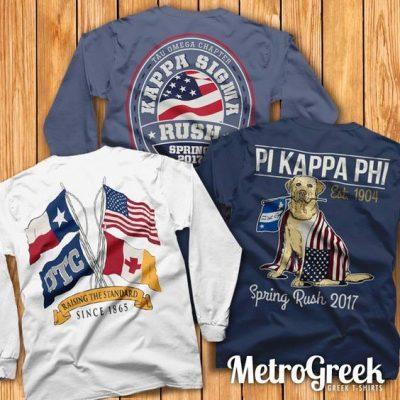 Americana Fraternity T-shirts
