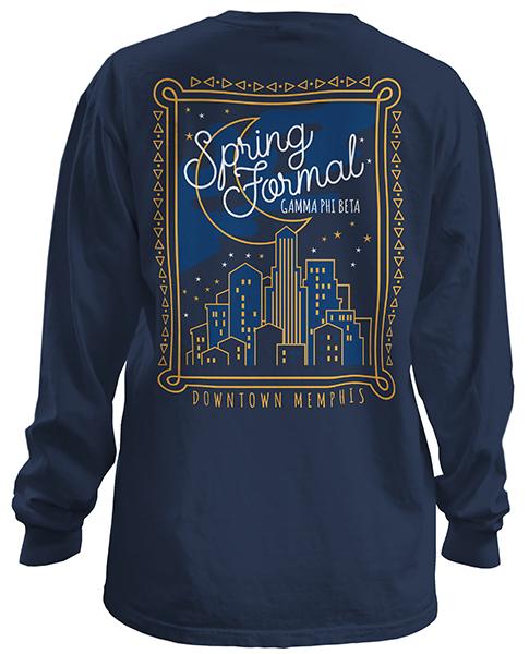 Gamma Phi Beta City Formal T-shirt