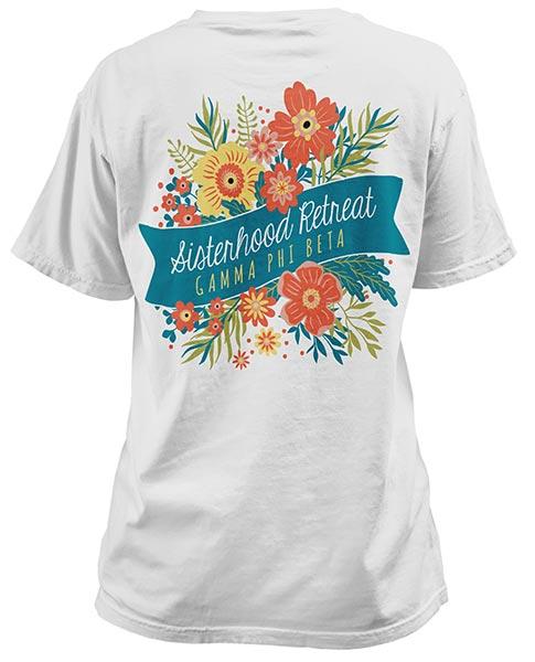 1017 gamma phi beta sisterhood t shirt greekshirts for Fraternity t shirt design