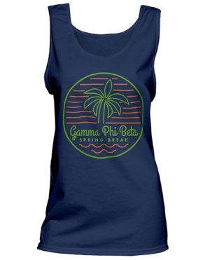 Gamma Phi Beta Spring Break T-shirt