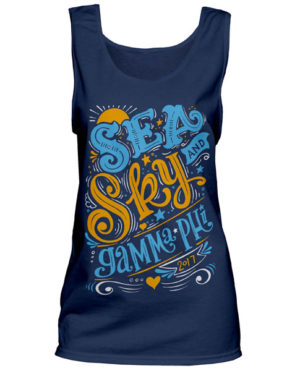 Gamma Phi Beta Sea and Sky Tank Top