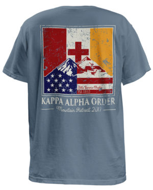 Kappa Alpha Mountain Retreat T-shirt
