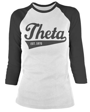 Kappa Alpha Theta Baseball T-shirts