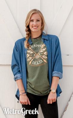 Kappa Delta Crossed Arrow T-shirt