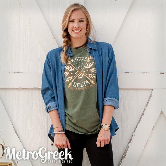 Kappa Delta Tribal T-shirt