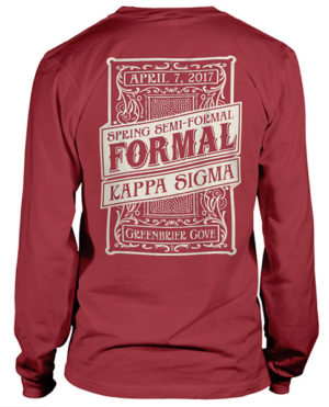 Kappa Sigma Formal T-shirt