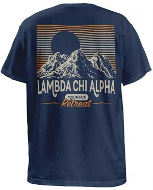 Lambda Chi Alpha Mountain Retreat T-shirt