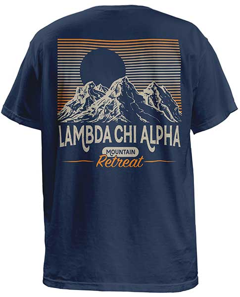 Lambda Chi Alpha Mountain Retreat T-shirt