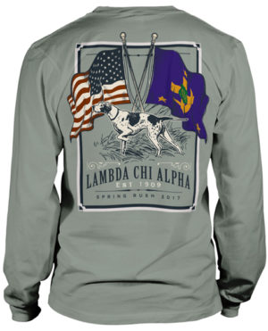 Lambda Chi Alpha Flag Rush T-shirt
