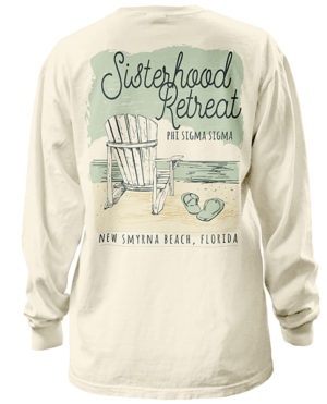 Phi Sigma Sigma Beach Weekend Tshirt