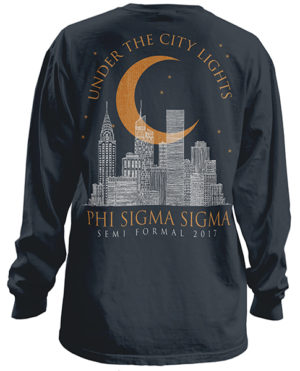 Phi Sigma Sigma Formal T-shirt