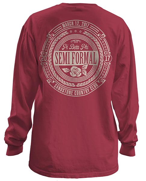 Pi Beta Phi Formal T-shirt