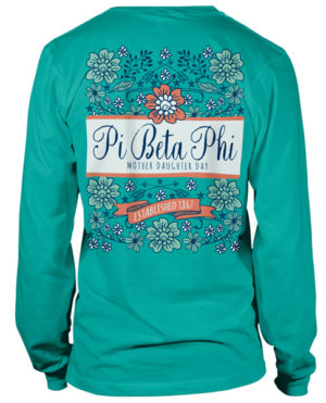 Pi Beta Phi Mother Daughter Day Tshirts