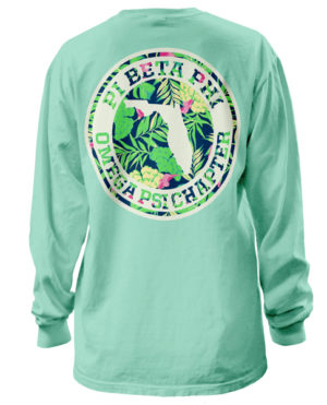 Pi Beta Phi State Tropical Shirt
